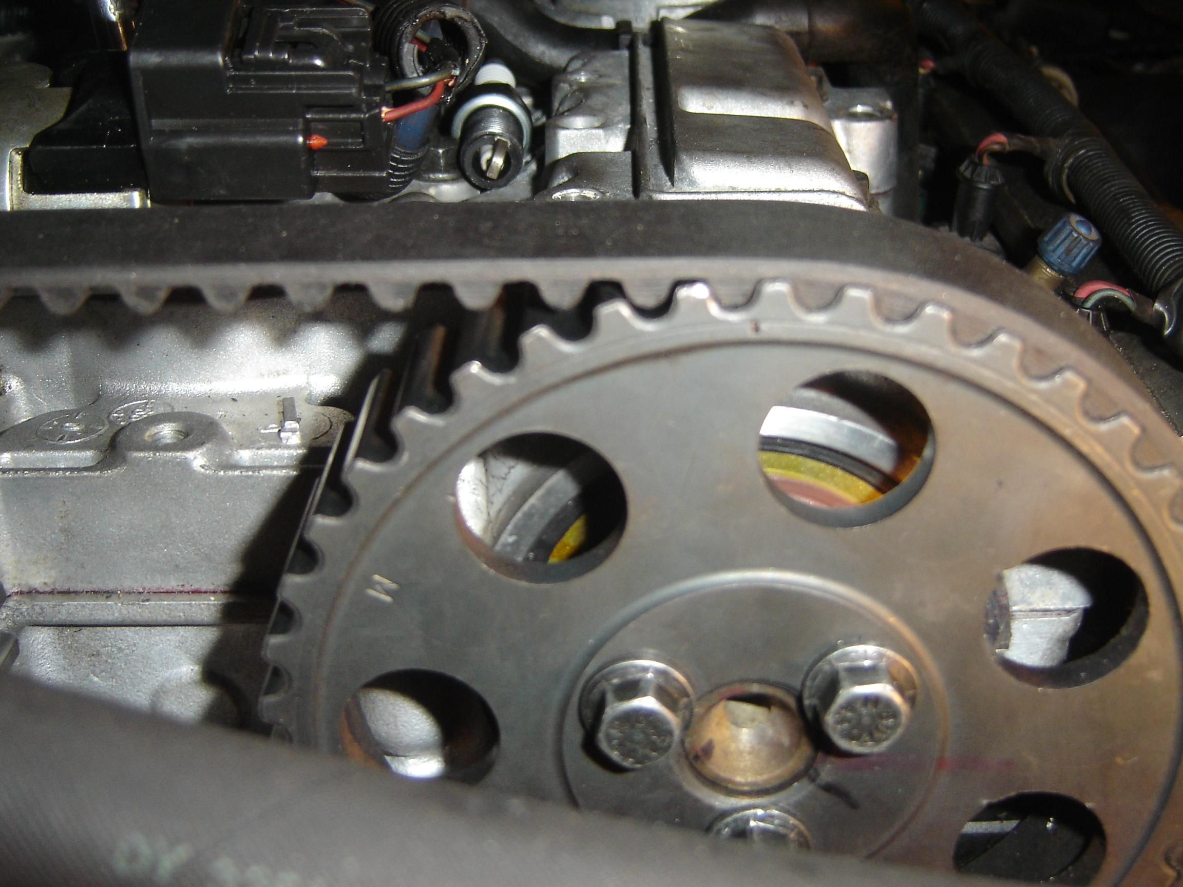 i m working on 2000 s40 1 9t the timing belt went on it 1az fe engine timing mark diagram #6