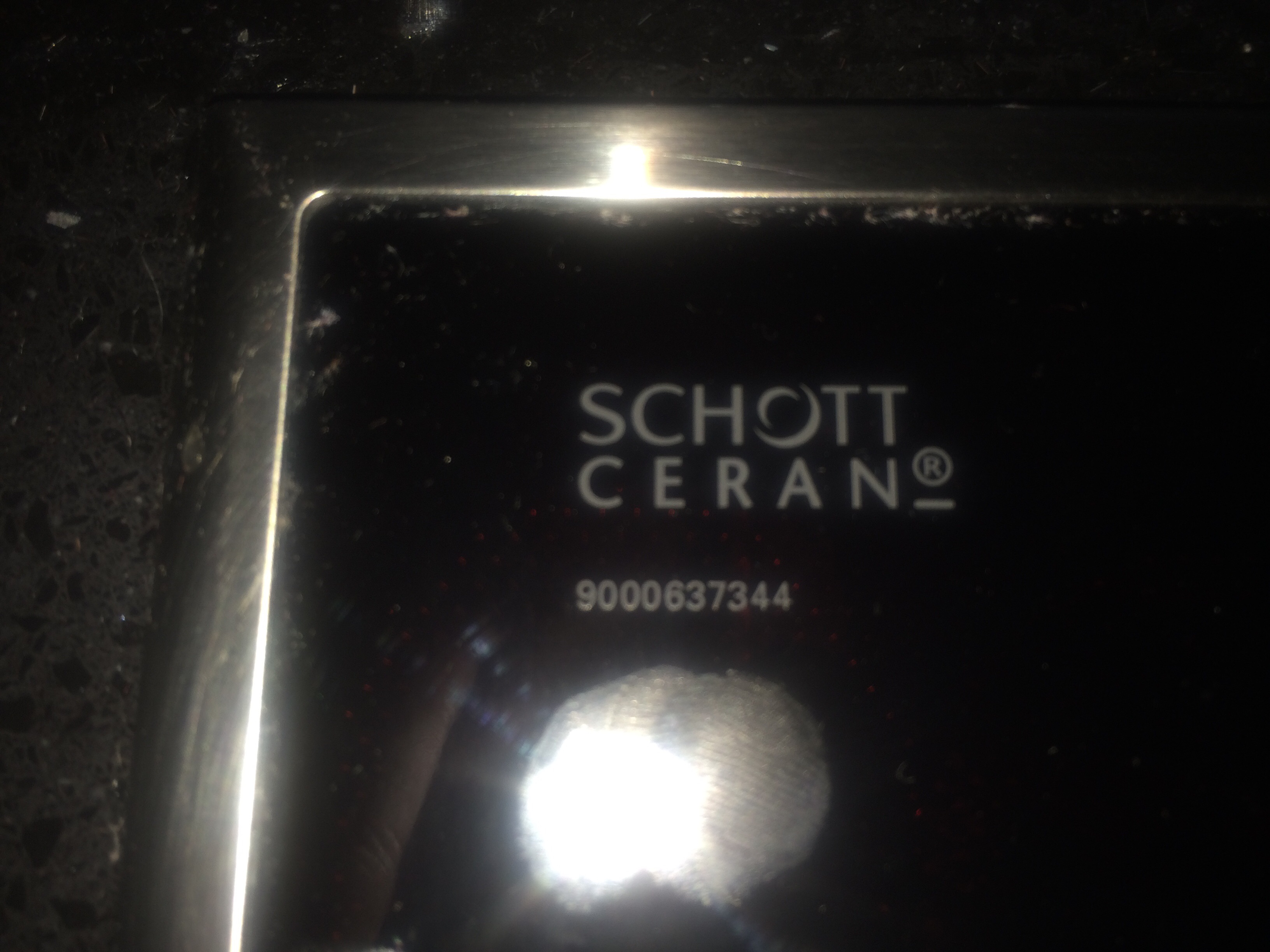 my siemens induction 5 hob will not turn on schott ceran. Black Bedroom Furniture Sets. Home Design Ideas