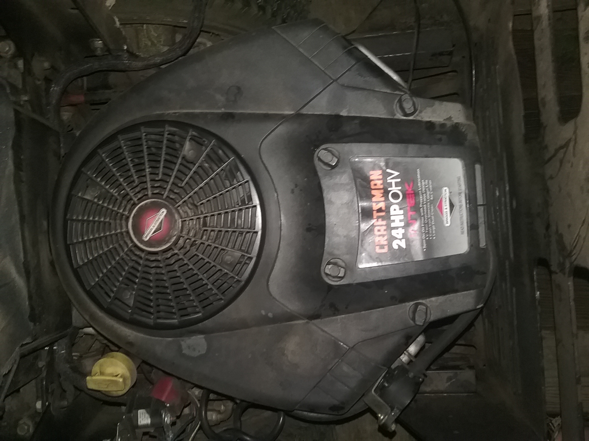 I have a 24hp Briggs stratton ohv engine that is backfiring