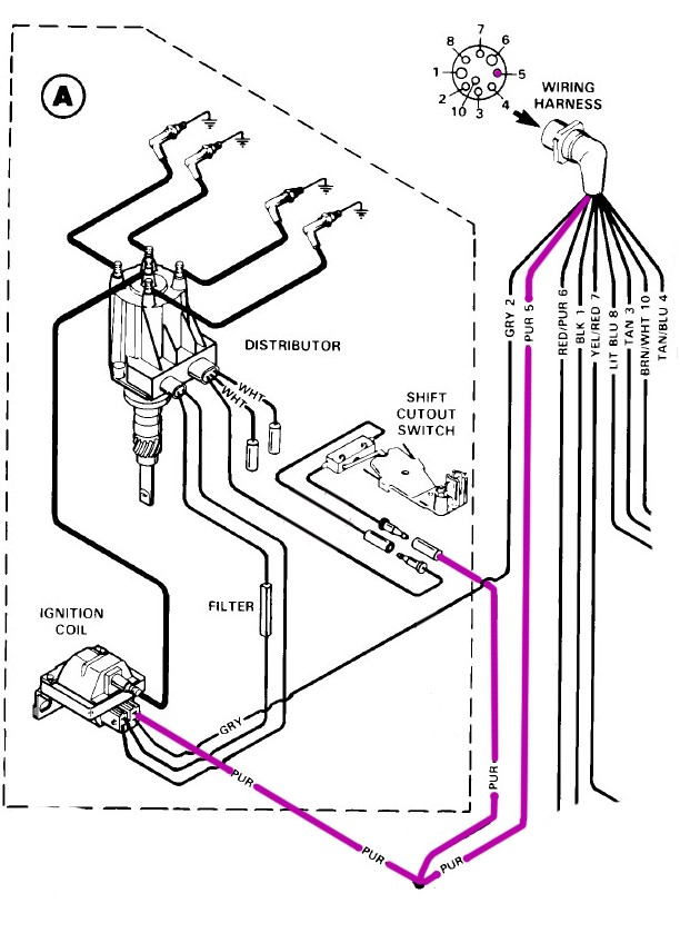 Terrific Mercruiser Ignition Coil Wiring Diagram Wiring Diagram Wiring Cloud Philuggs Outletorg