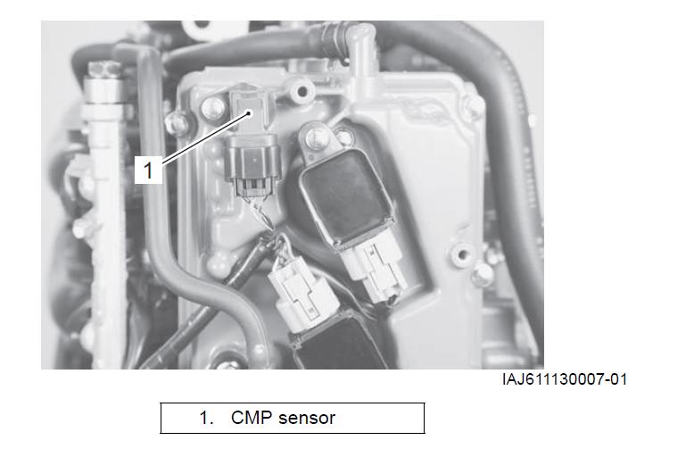 Suzuki Outboard Cmp Sensor