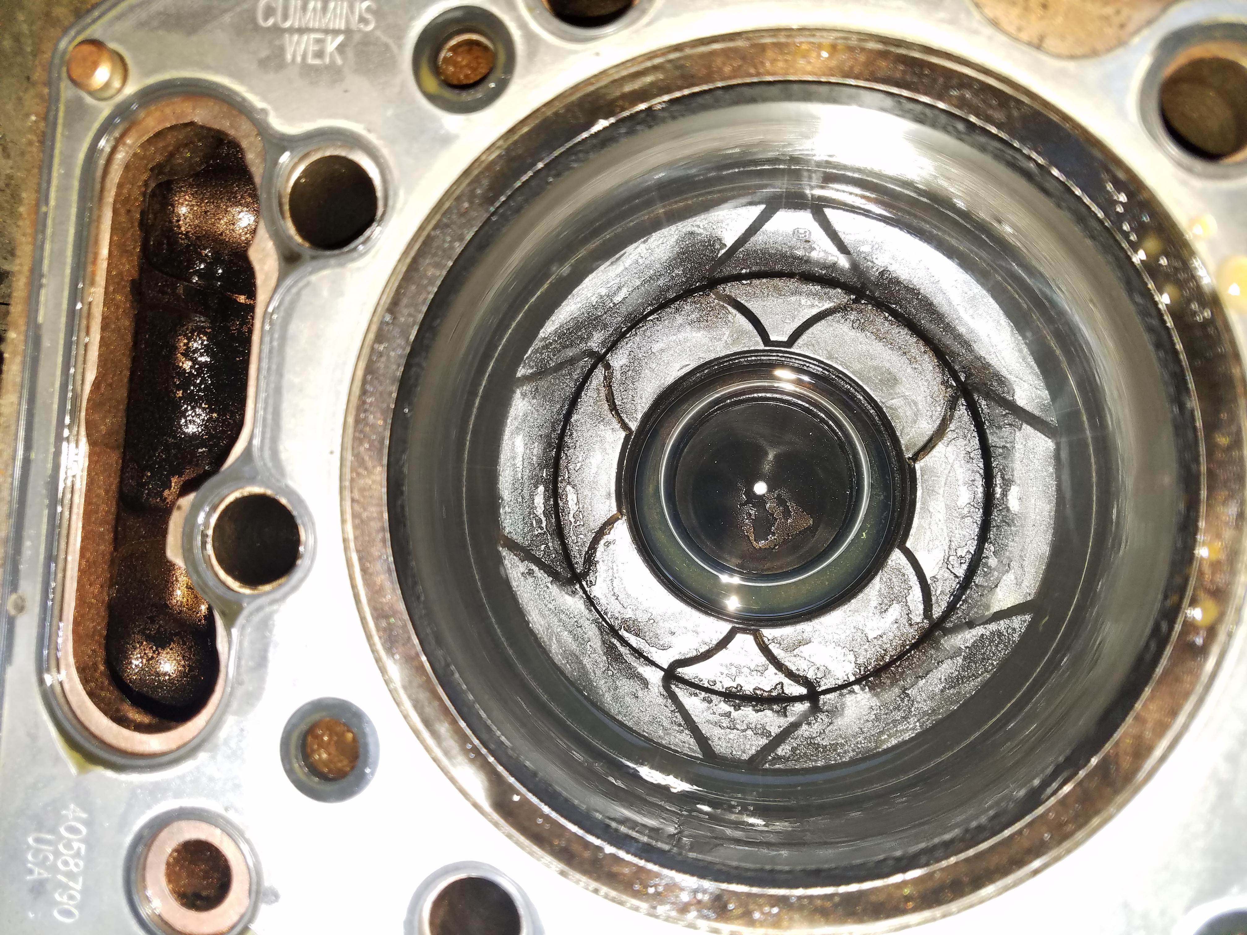 Cumminsdr n14 esn 11834253 truck had a head gasket that was