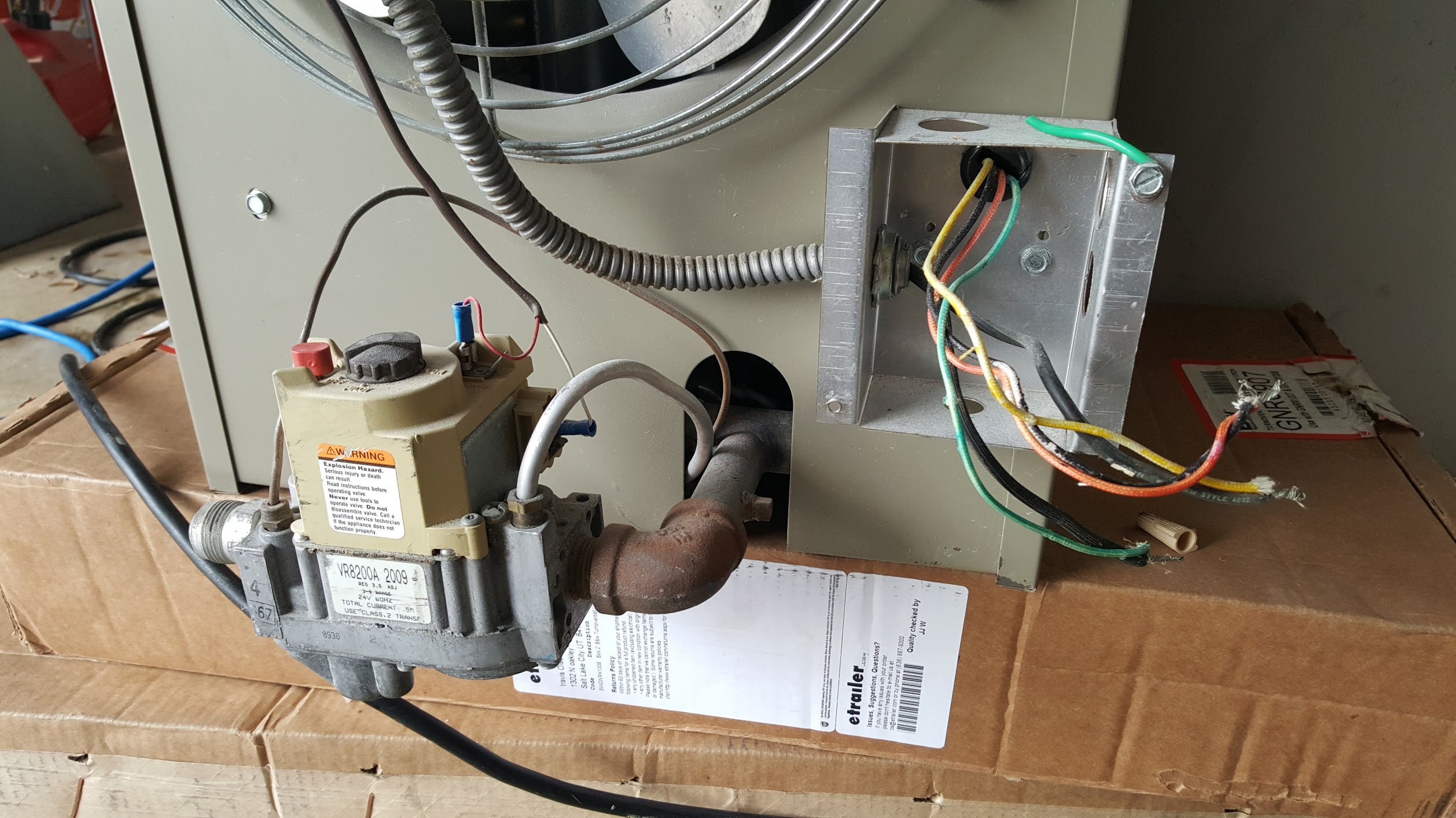 I have a old Janitrol Unit Heater Product WH-30 that I cant ... Janitrol Unit Heater Wiring Diagram on