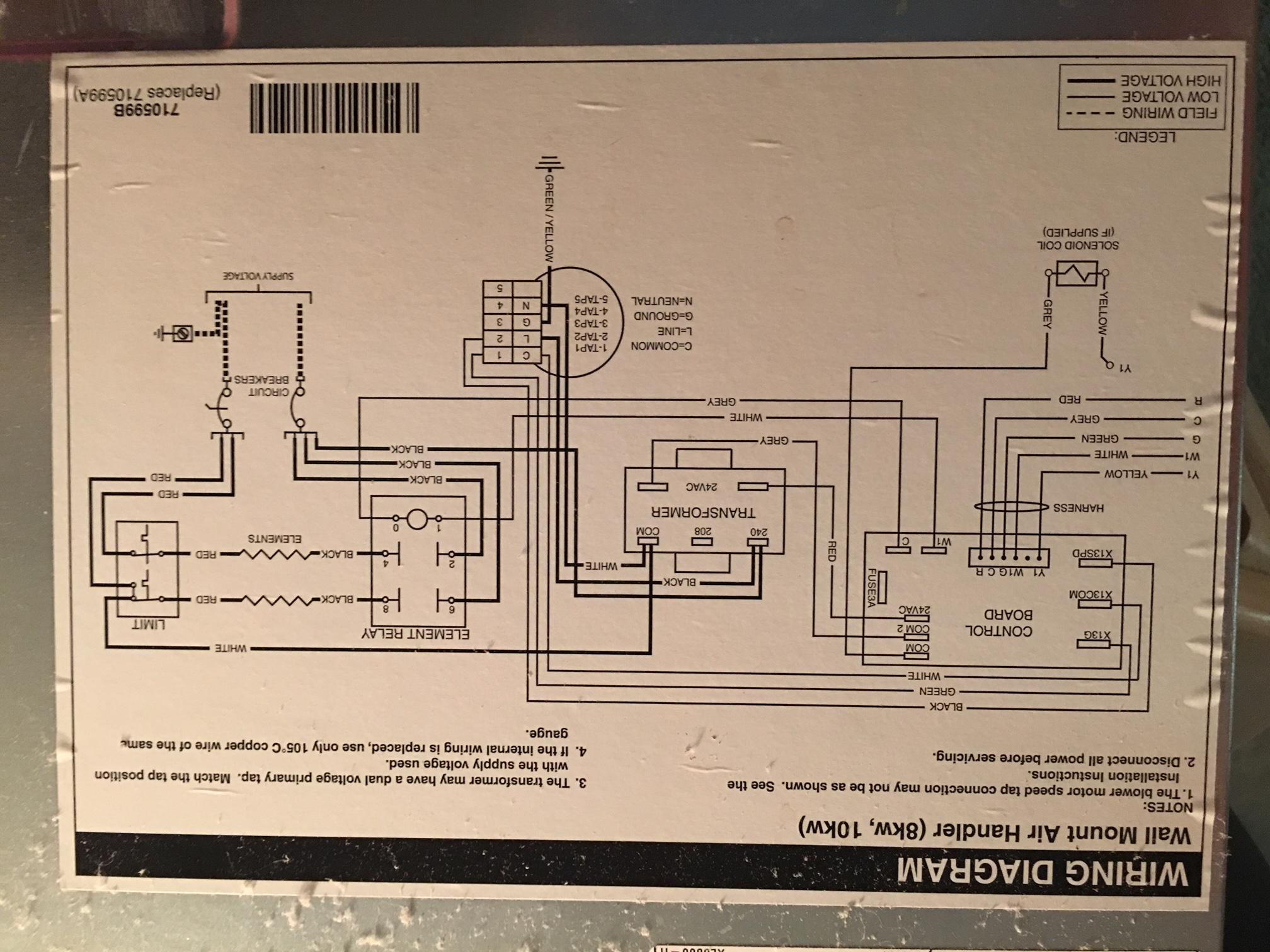 Nordyne Air Handler Wiring Diagram - 14.15.castlefans.de • on
