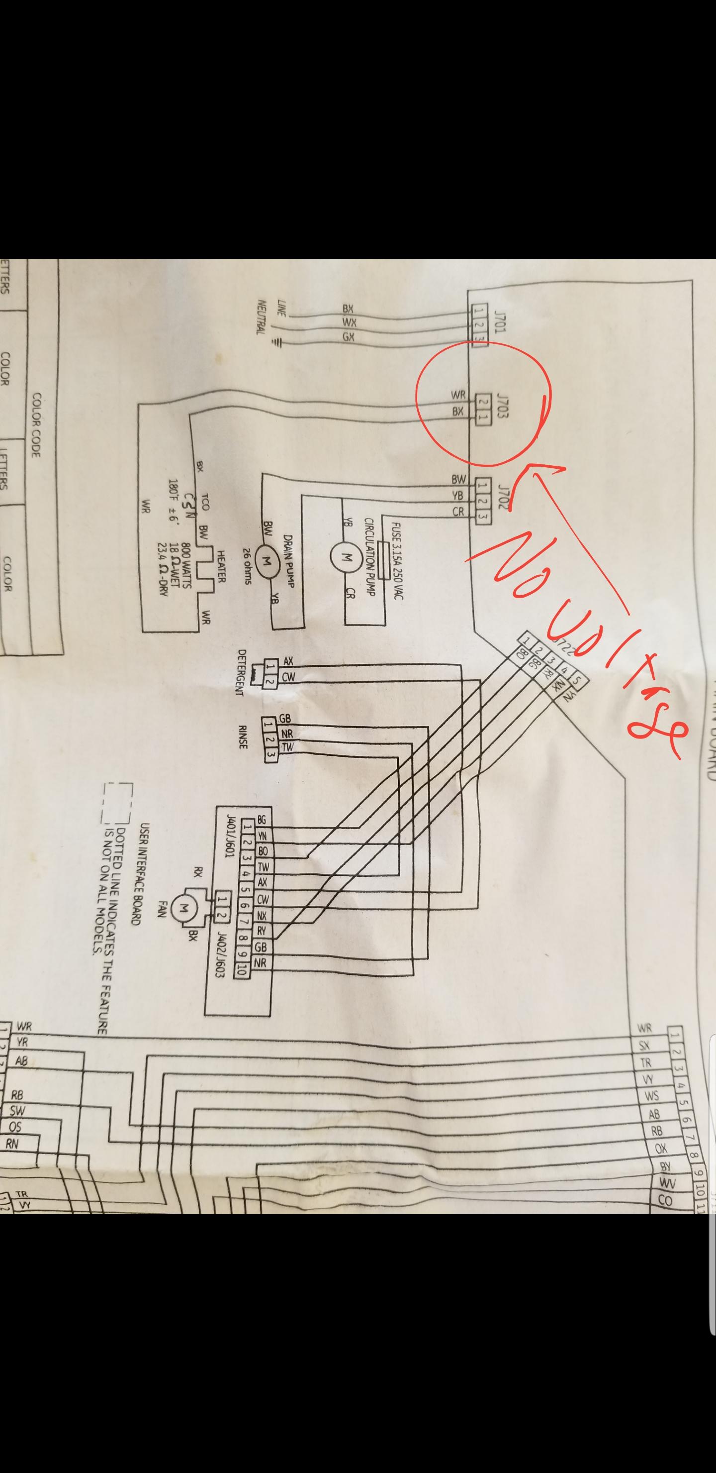 Dishwasher Parts Searspartsdirect On Maytag Dishwasher Wiring Harness
