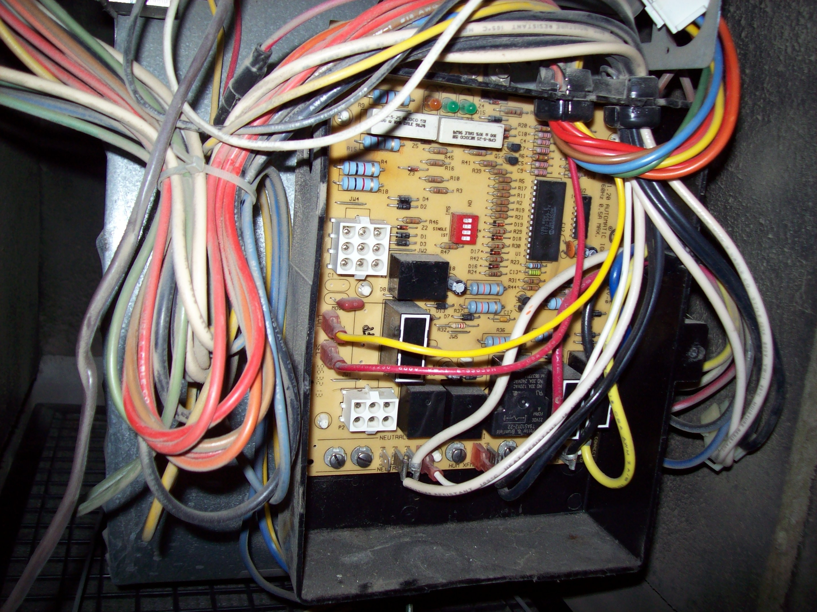 Rheem Criterion Ii Wiring Diagram About Keeprite Furnace I Have A With 62 24080 01 Fan Control Board Ducane