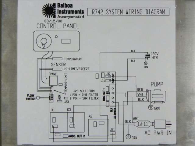 Spa Wiring Diagram Schematic - Wiring Solutions