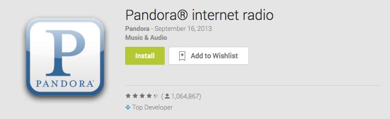 download pandora station