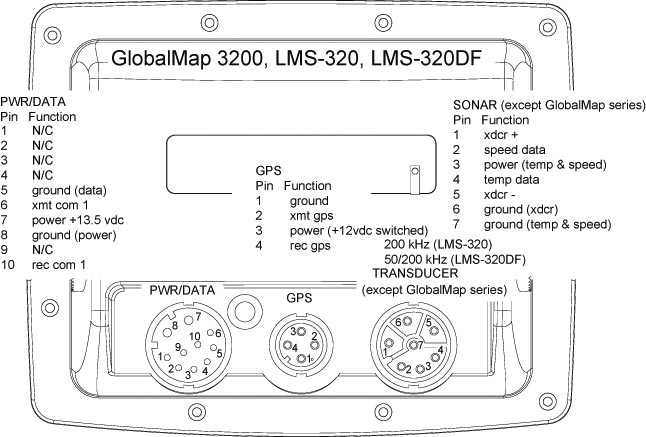 7 pin wiring diagram for a lowrance transducer my    lowrance    globalmap 2400 died i purchased a used 3200  my    lowrance    globalmap 2400 died i purchased a used 3200