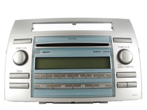 i have a cd radio unit in my corolla verso w53824 type. somehow i