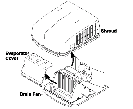 Rv Air Conditioner Diagram