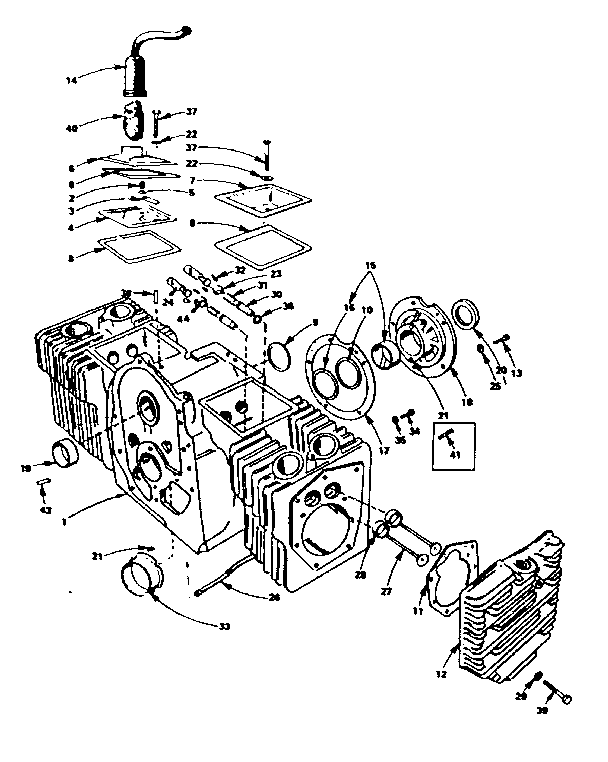 b43m onan engine parts diagram