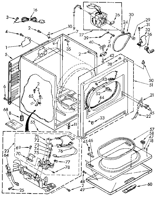 Thermal Fuse Location On Samsung Dryer Maytag Dryer Performa Dryer
