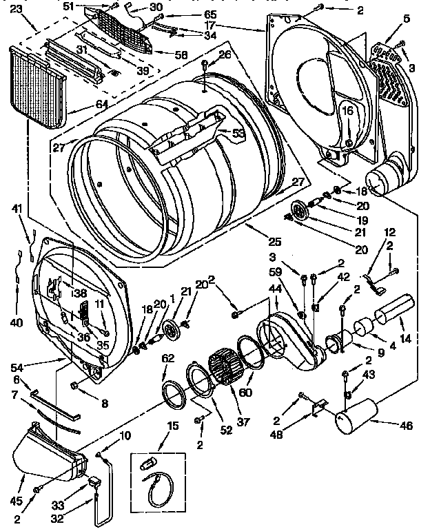 Ge Dryer Schematic Diagram