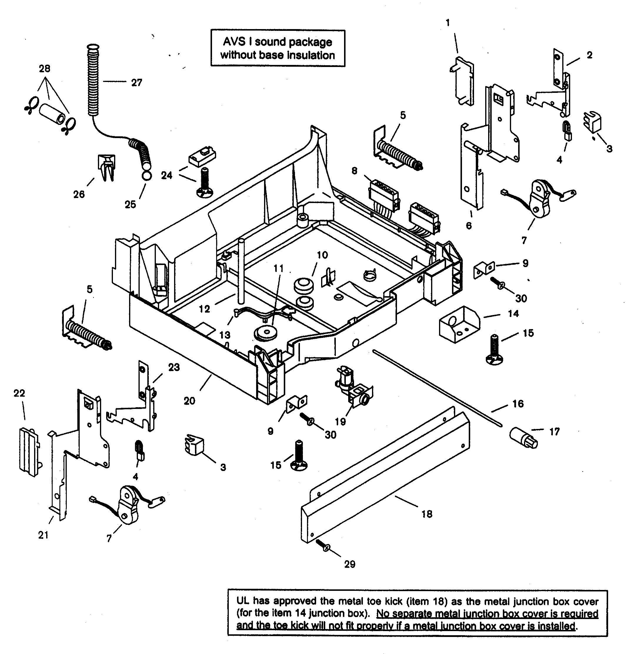 I Have A Bosch Electronic Dishwasher Model Shu53e05uc    14