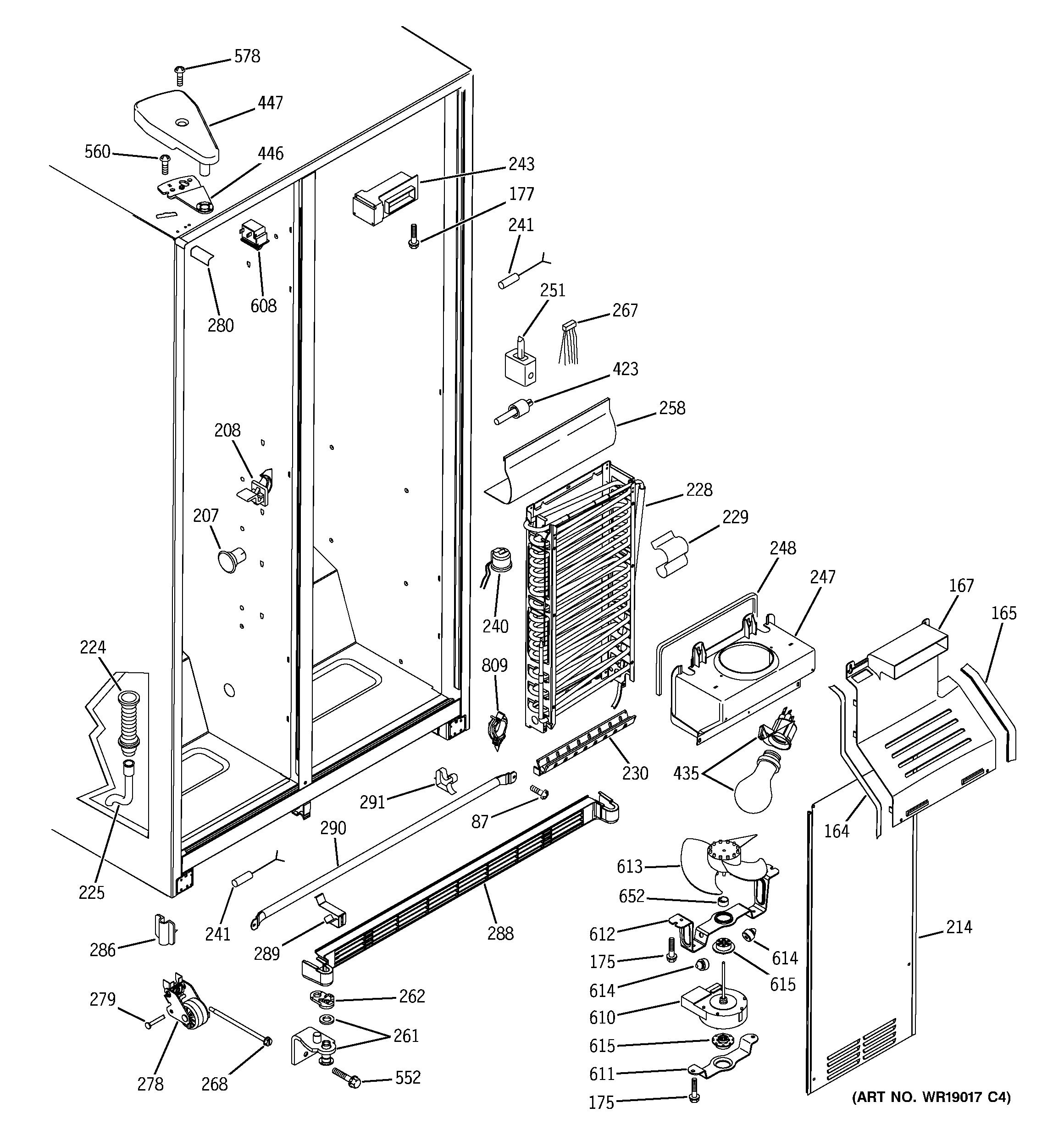 wiring refrigerator diagram ge pds20m