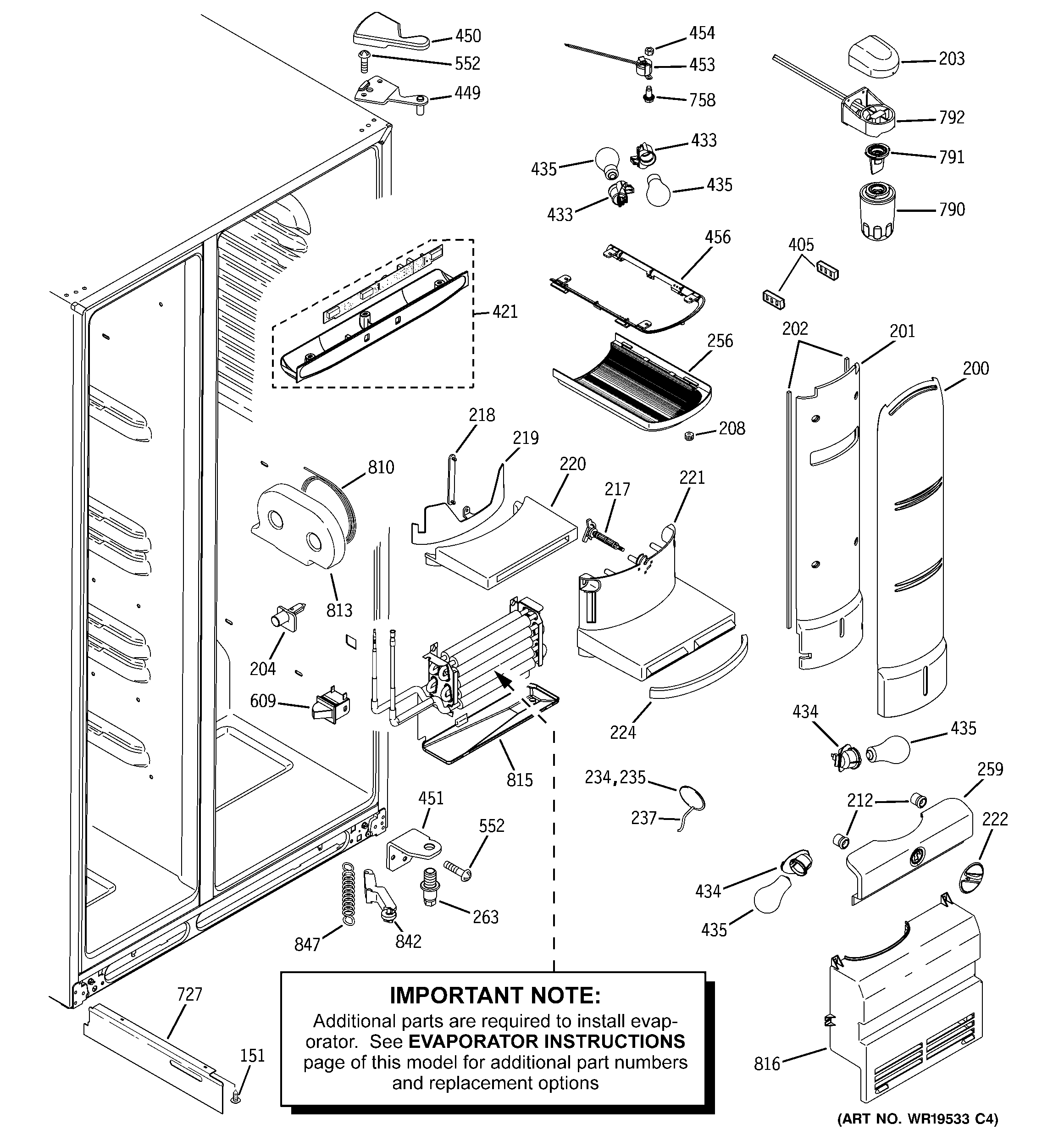 Ge Profile Arctica Refrigerator Parts Diagram Free Car Wiring GE Profile  Arctica Not Cooling Schematic Ge Profile Artica