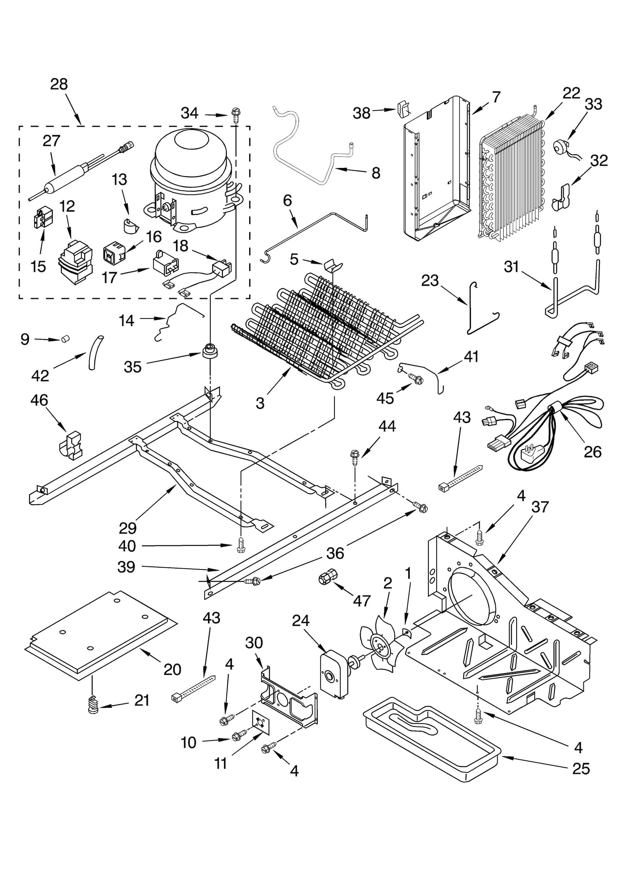 Kenmore 106 56532400 Ice Maker Wiring Diagram. Kenmore Model ... on
