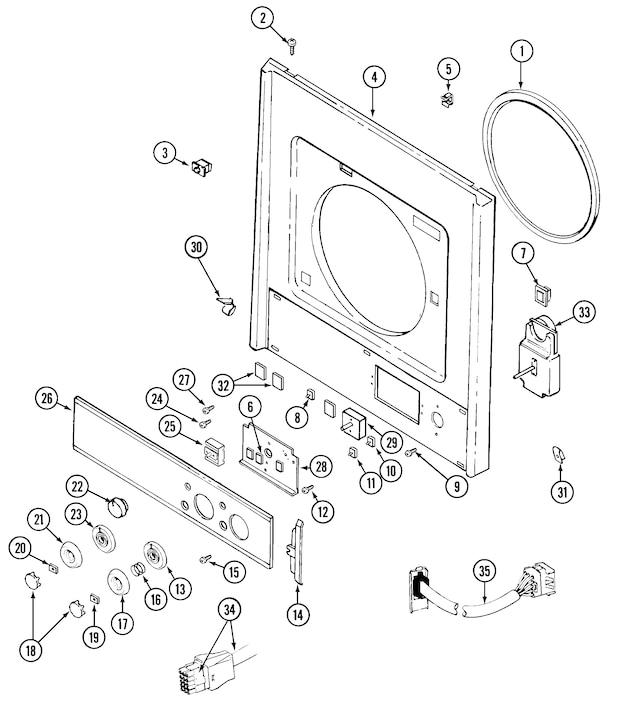 Maytag Epic Z Dryer Wiring Diagram