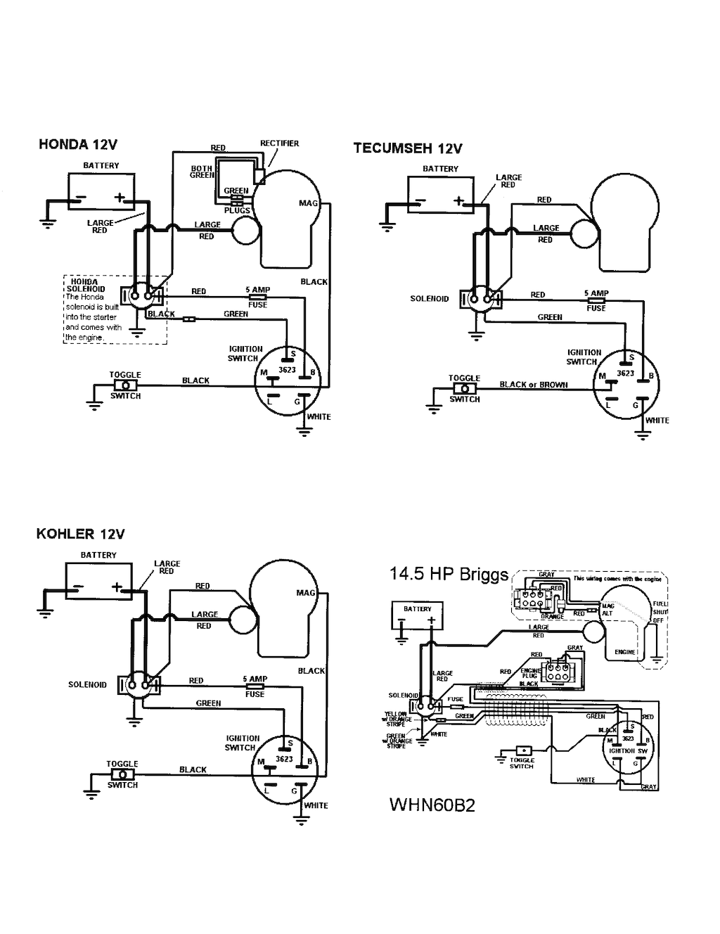 14 hp vanguard wiring diagram kohler k321 14 hp ignition wiring diagram i recently purchased a used 60 quot swisher pull behind mower with