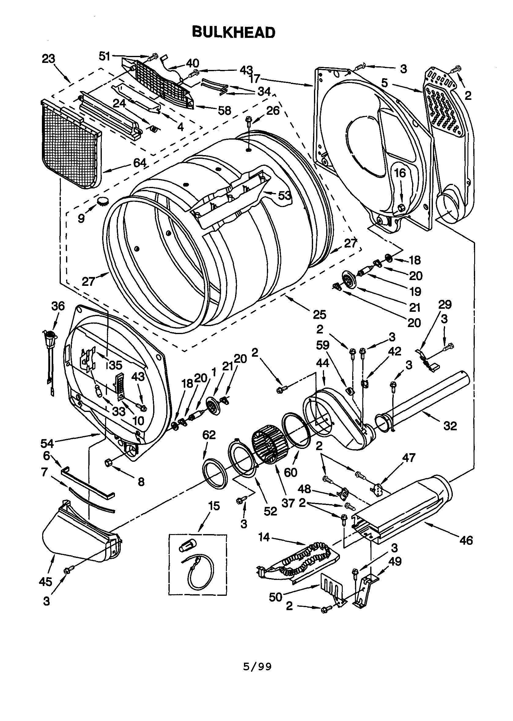 I Have A Kenmore Electric Dryer Model 110 60912990 I Want To Check The Heating Element  Where Is