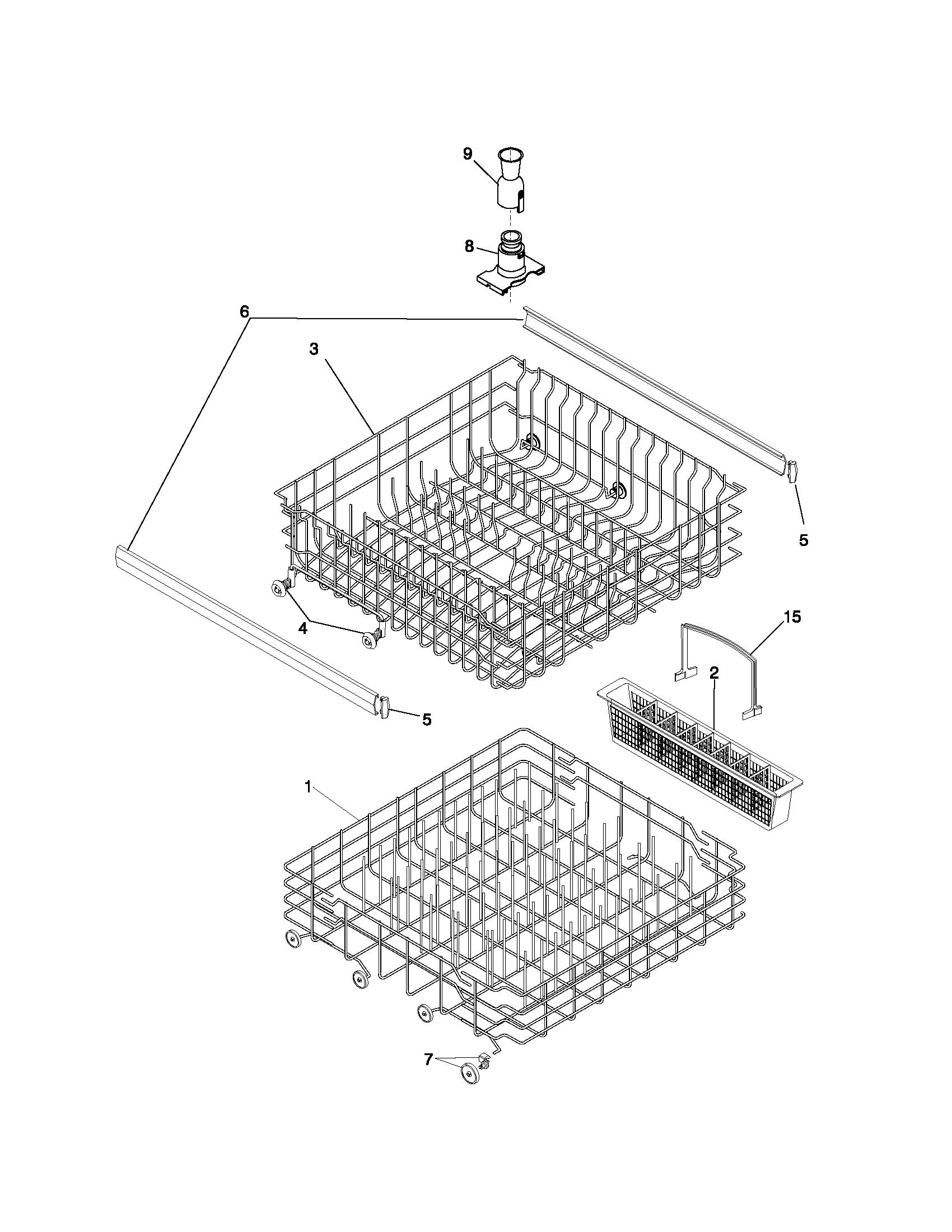 How Do I Put The Inside Center Part Of A Frigidaire