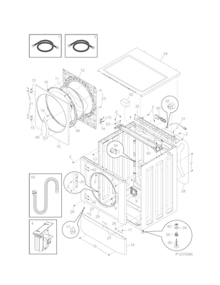 Kenmore Front Load Washer 44152400 Wont Spin Drum Turns For Wash