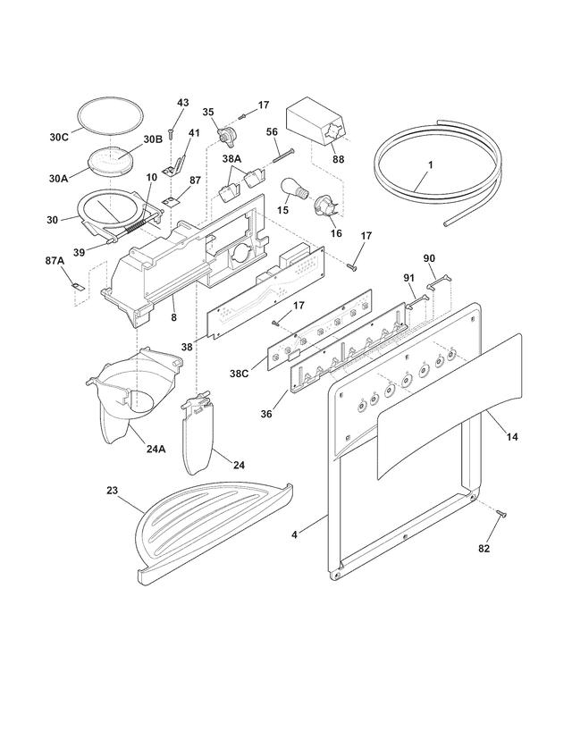Wiring Diagram Frigidaire Frs26zrg