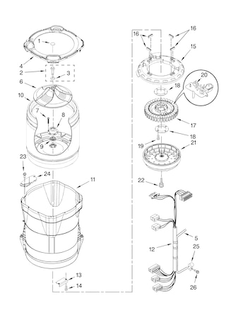 Maytag Washer Mtw6700tq1 Wiring Diagrams Wiring Diagram Drawing