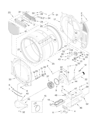 How Do You Reset The Amana Tandem 7300 Electric Dryer Right Now The