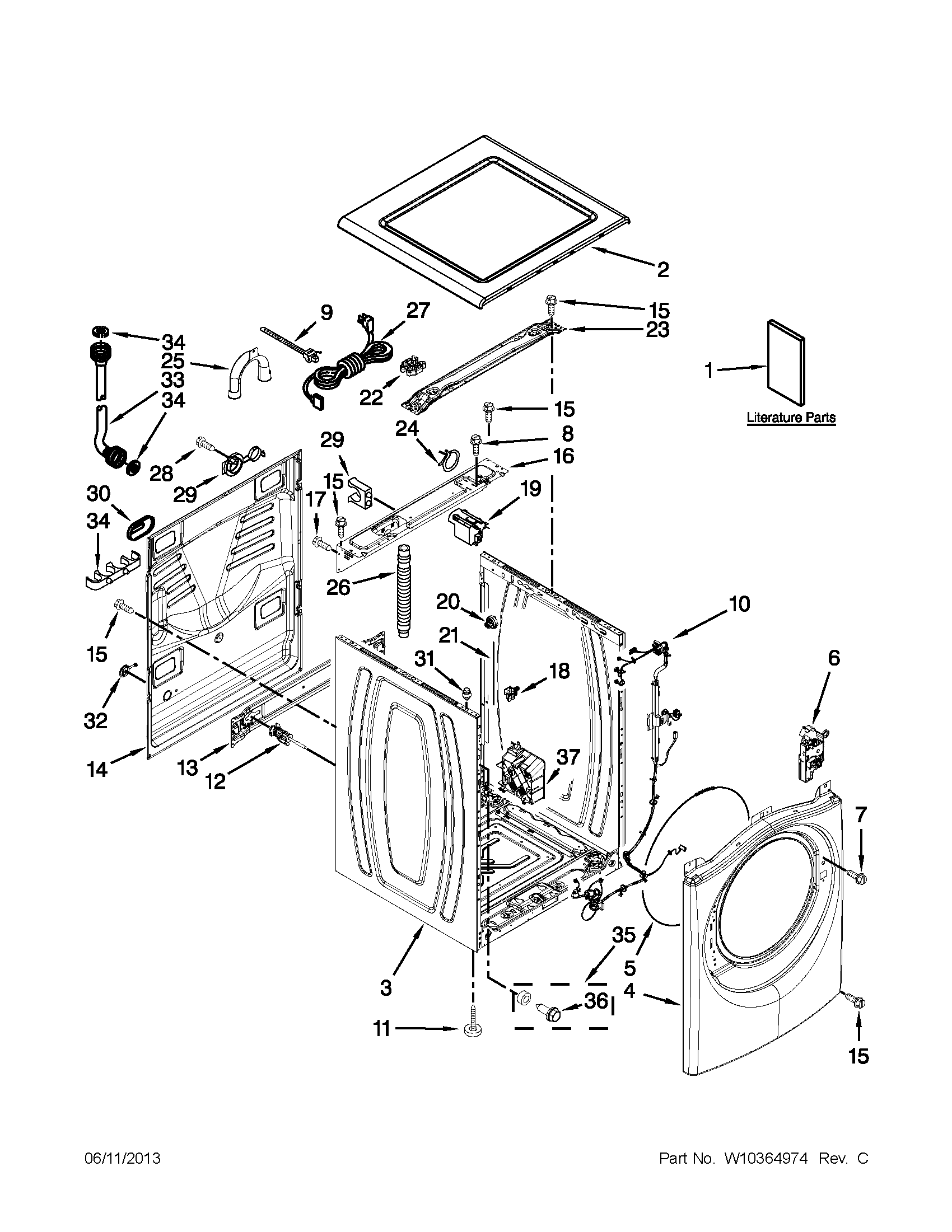 Error Code Message F06 And E01  Whirlpool Duet Washing Machine