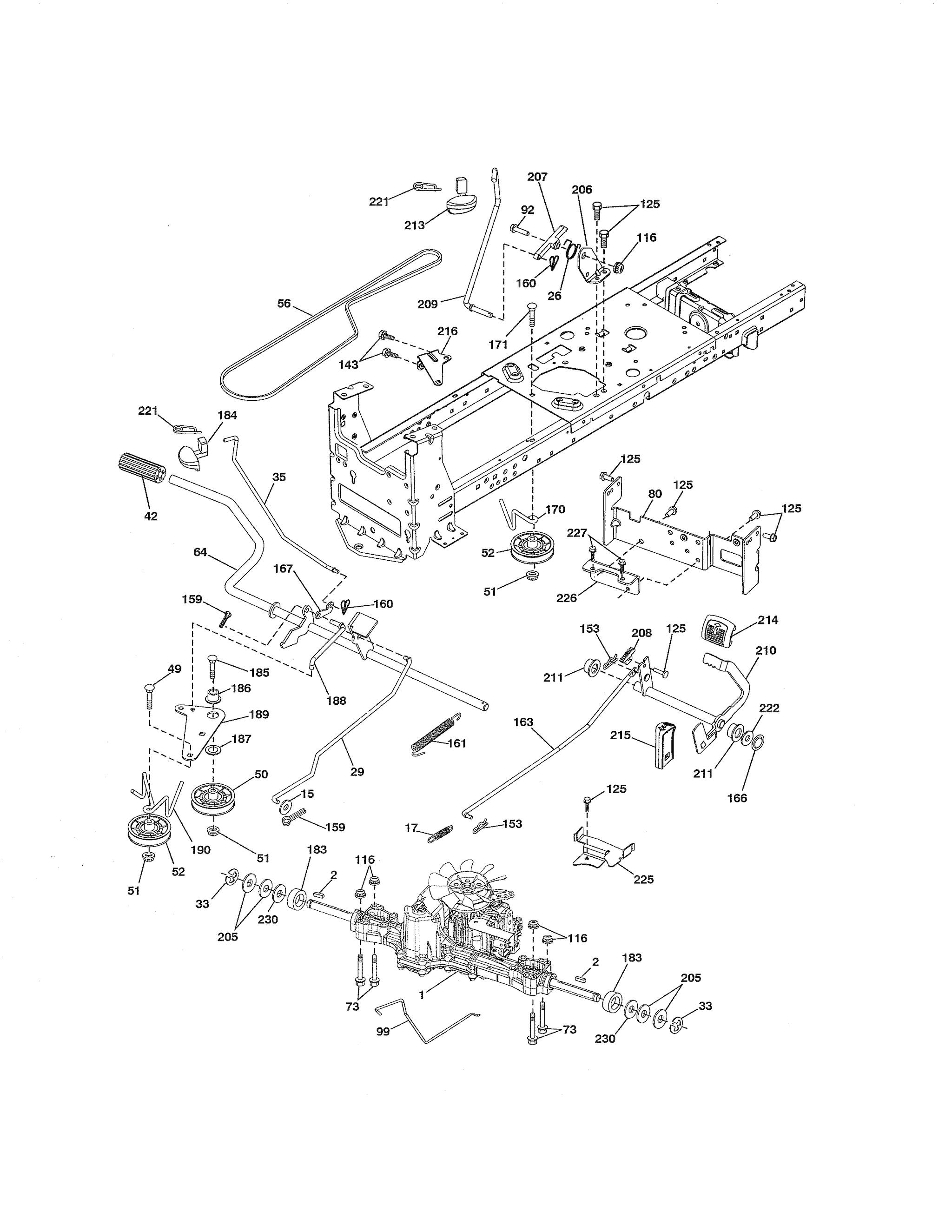 Craftsman Hydrostatic Transmission Diagram - Atkinsjewelry
