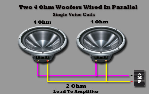 Car Speakers To 2 Ohms Wiring - Find Wiring Diagram •