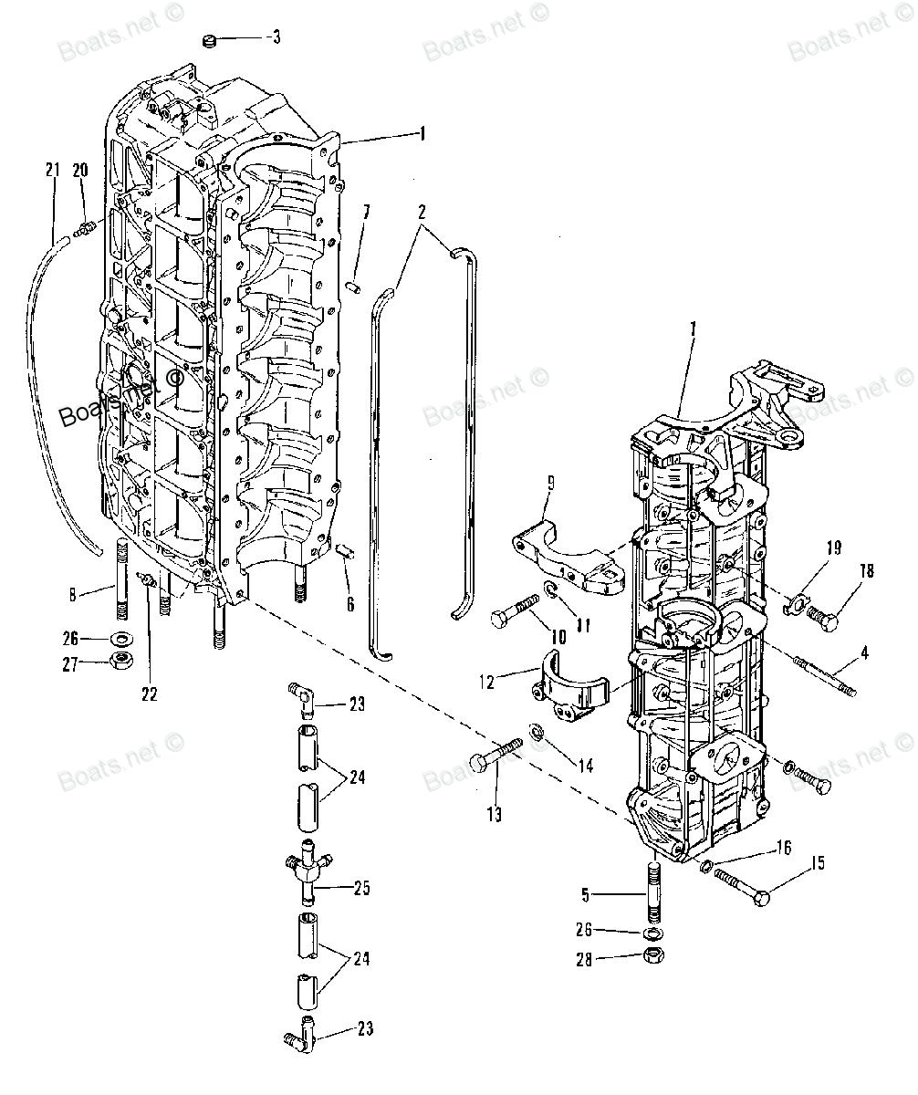 25 hp mercury outboard carb parts diagram
