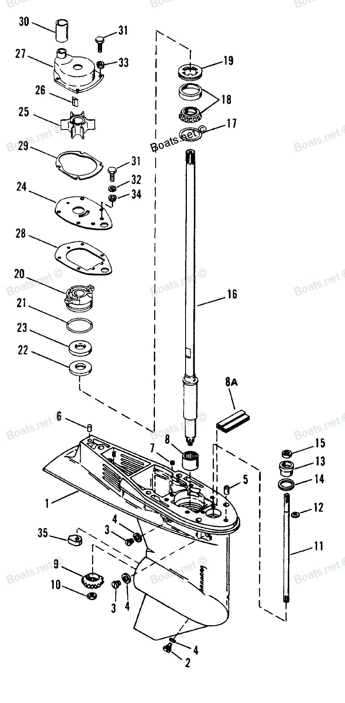 on Mercury Outboard Wiring Diagram
