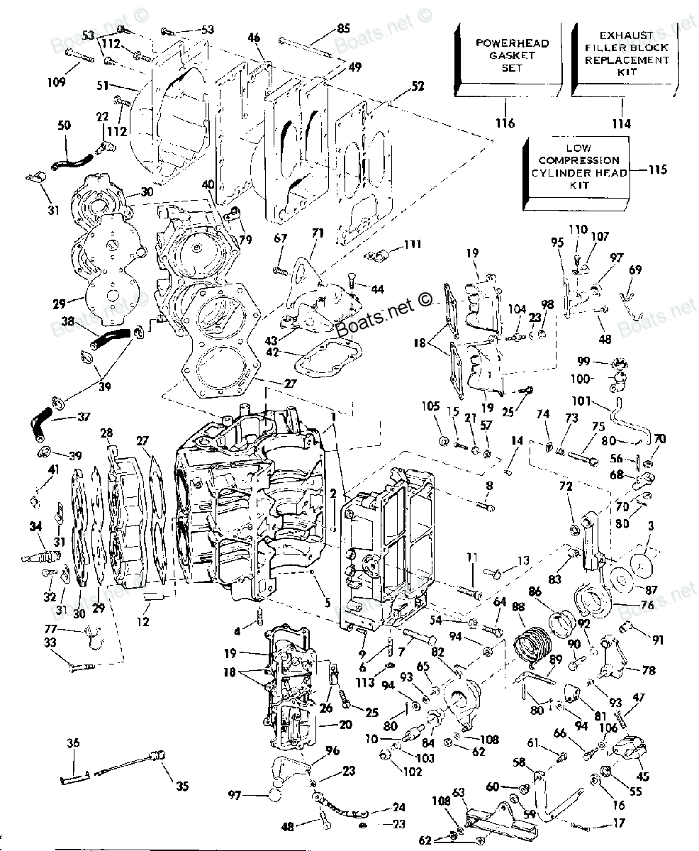 I Have A 1984 V4 2 Stroke Model J90tlcur It Seems To Me Like 1 Of Wiring Diagram Advice For Small Boat Page Iboats Boating J90tlcrd Evinrude Johnson Outboard Cylinder Crankcase And Parts