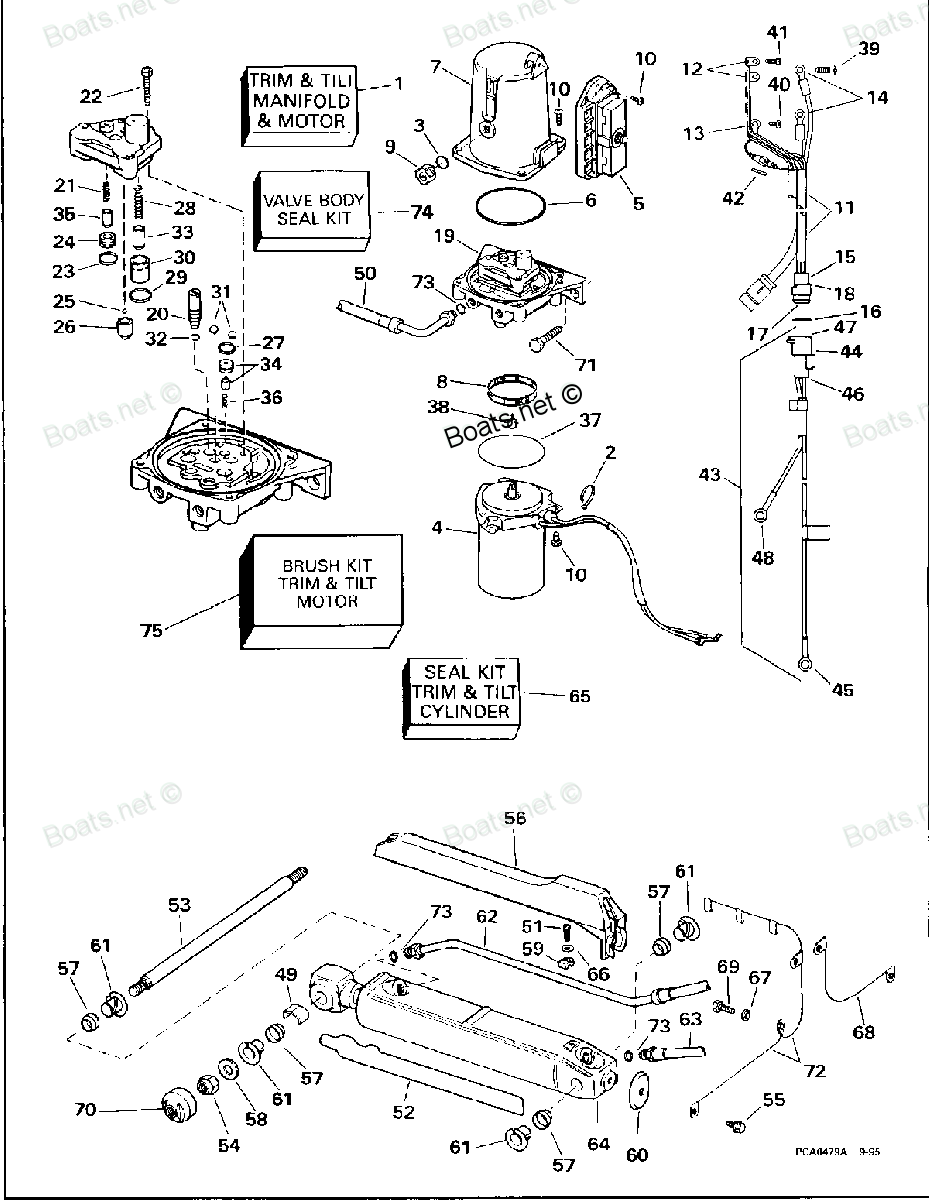cmc power tilt and trim wiring diagram  diagram  auto
