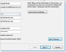 Set up your email in Outlook 2007