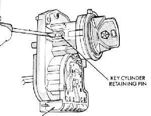 Replacement of ignition switch assy on a 1991 Toyota pickup 22re on