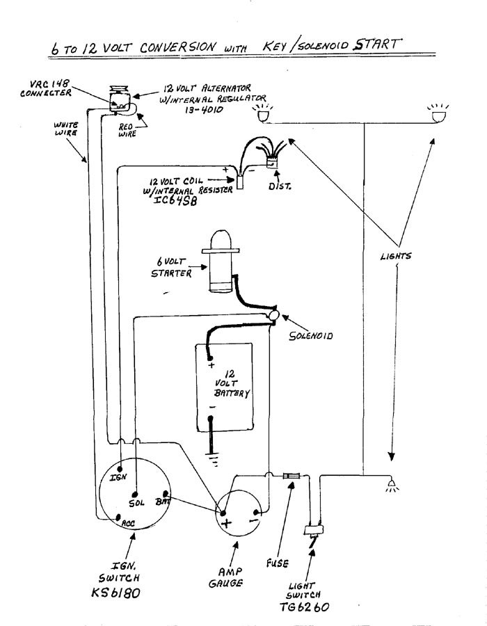 Volt Conversion Wiring Diagram On Napa Ignition Coil Wiring Diagram