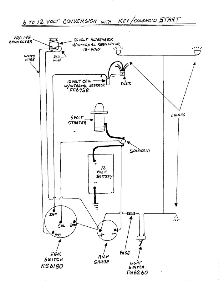 Wiring Diagram On Volt Conversion Wiring Diagram On Napa Ignition