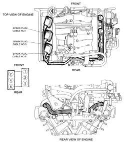 1994 mitsubishi montero 3 5l spark plug wire diagram rh justanswer com