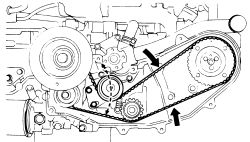 The timing belt broke on my 1987 Subaru DL 1.8 4wd while ...