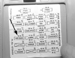 1997 Silverado Fuse Box - Wiring Diagram G11