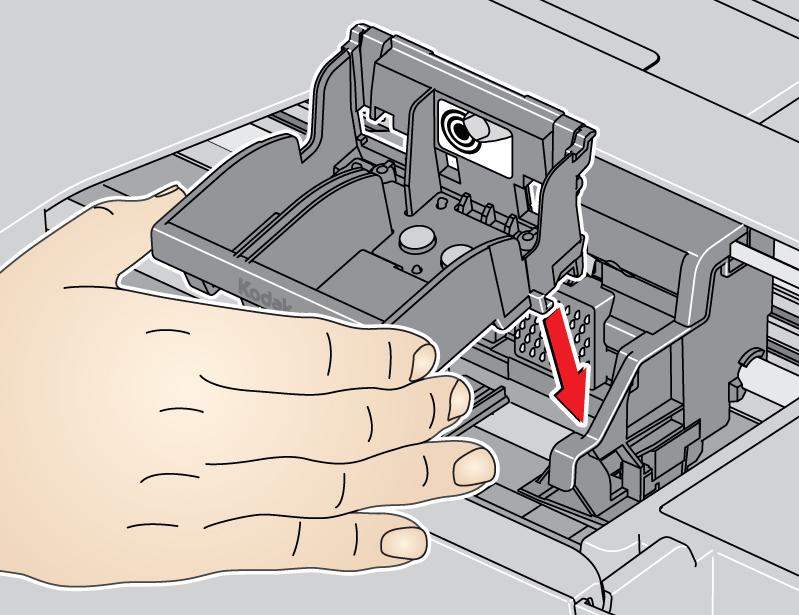 My Kodak Hero 5 1 will not print despite new cartridges