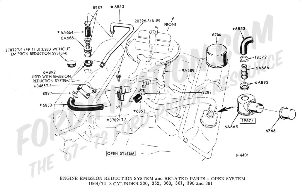 ford emissions diagram