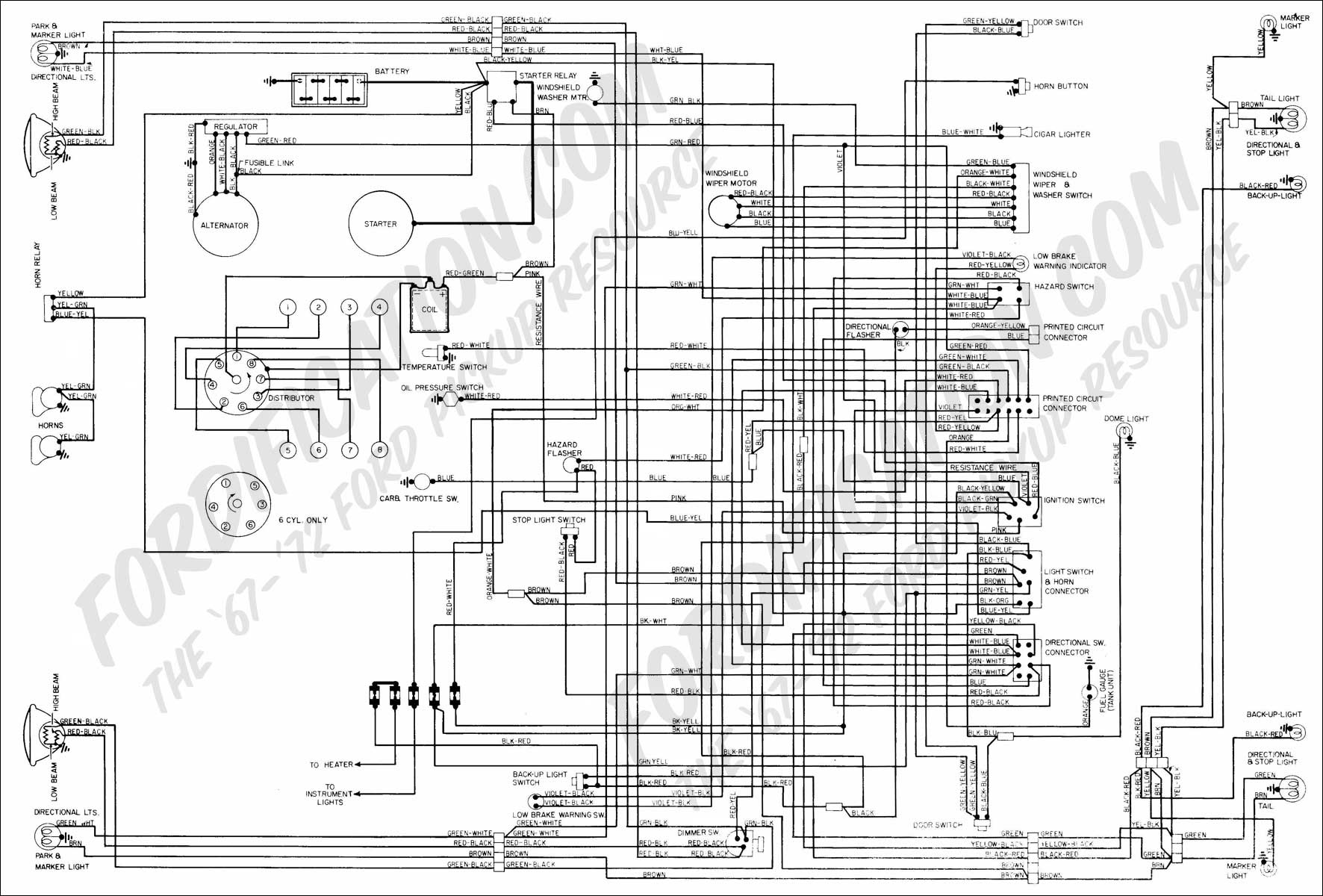 wiring diagram 72_quick i have a 90 f150 and about 2 months ago it wouldn't start the 1991 F150 Fuel Pump Wiring Diagram at bayanpartner.co