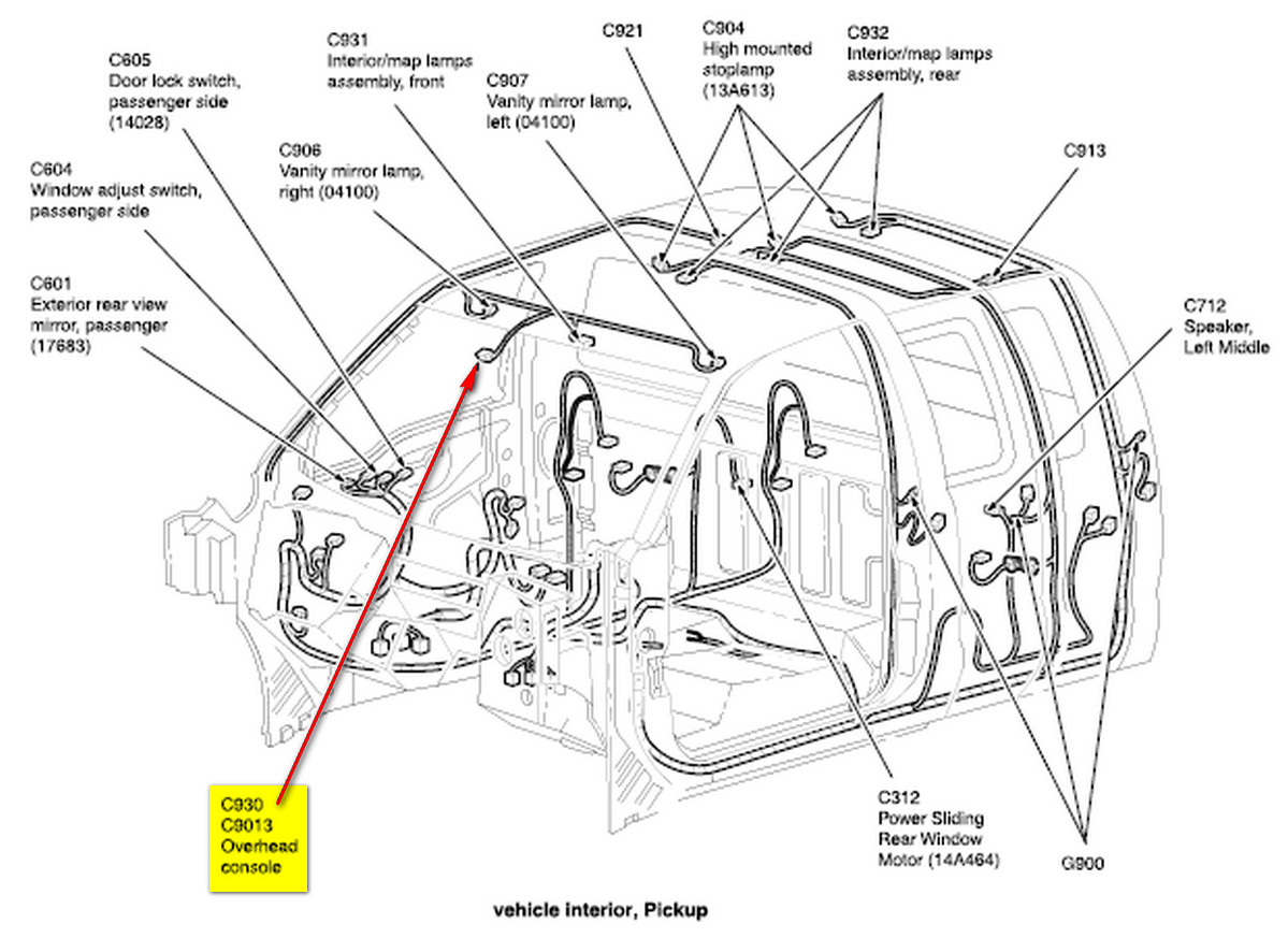 2004 f350 crew cab diesel loaded with sunroof, i was wondering ifSunroof Switch Wiring Diagram As Well As 2005 Ford Taurus Sunroof #18