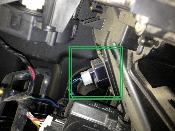 how do you install a blower motor resistor