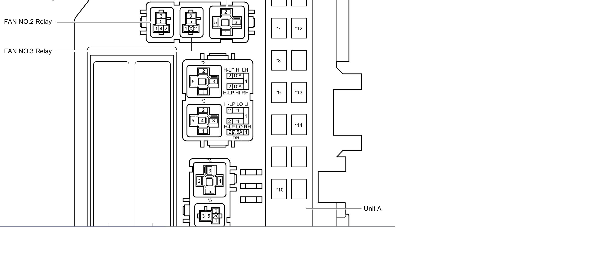 2007 prius fuse box diagram